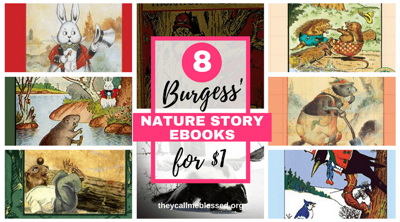 8 Thornton W. Burgess' Nature Story eBooks for $1