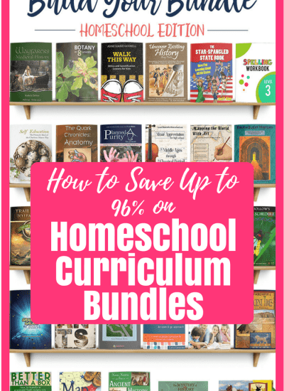 How to Save 90% on Homeschool Curriculum Bundles