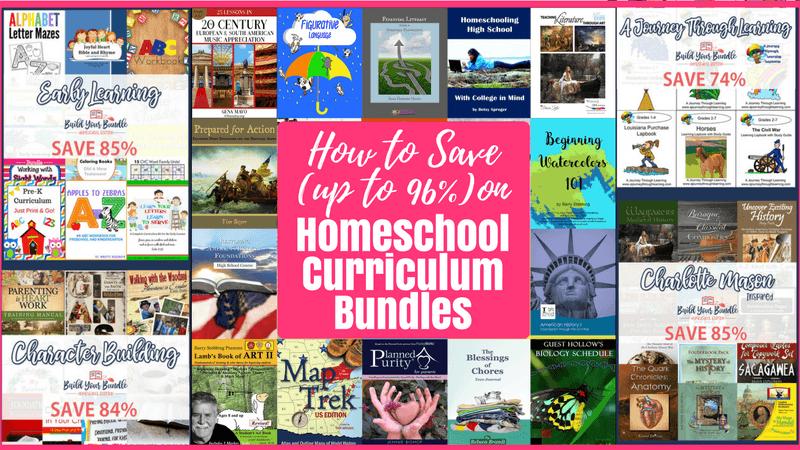 How to Save 96% on Homeschool Curriculum Bundles