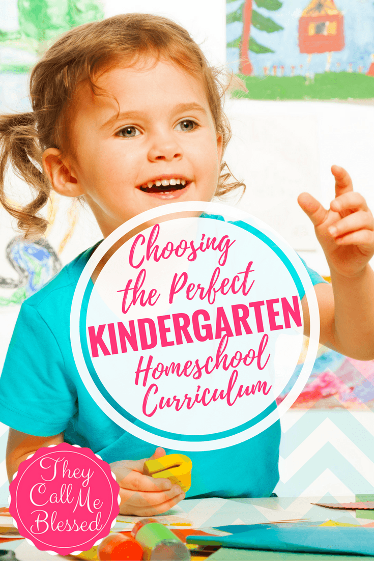 Need ideas for the perfect Kindergarten Homeschool Curriculum?