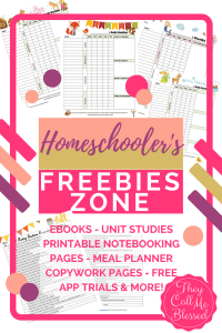 Homeschool Freebies Zone  - Hundreds of free printables and free trials for homeschoolers. Homeschool Freebies | Free Homeschool Printables | Homeschool For Free | Free printables for homeschool