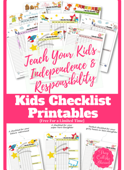 How to Teach Kids Independence and Responsibility (Free Kids' Checklist!)