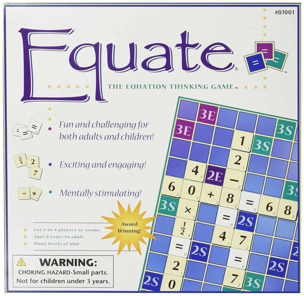 Homeschool Math: Equate The Equation Thinking Game.