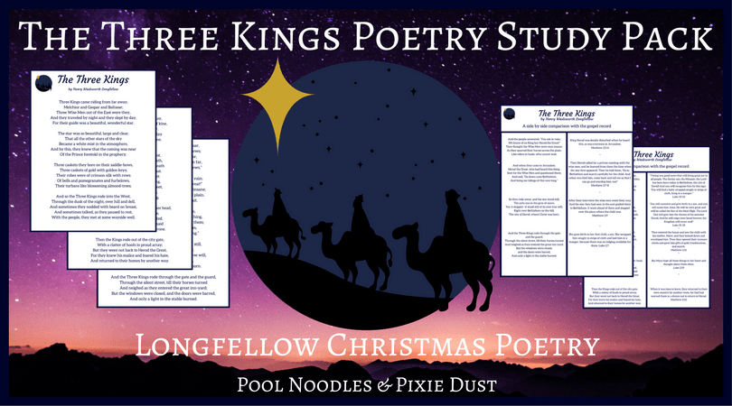 Nativity Poetry Study - Christmas Poetry Package