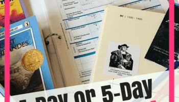 4-Day or 5-Day Homeschool Schedule, Which One Is Best