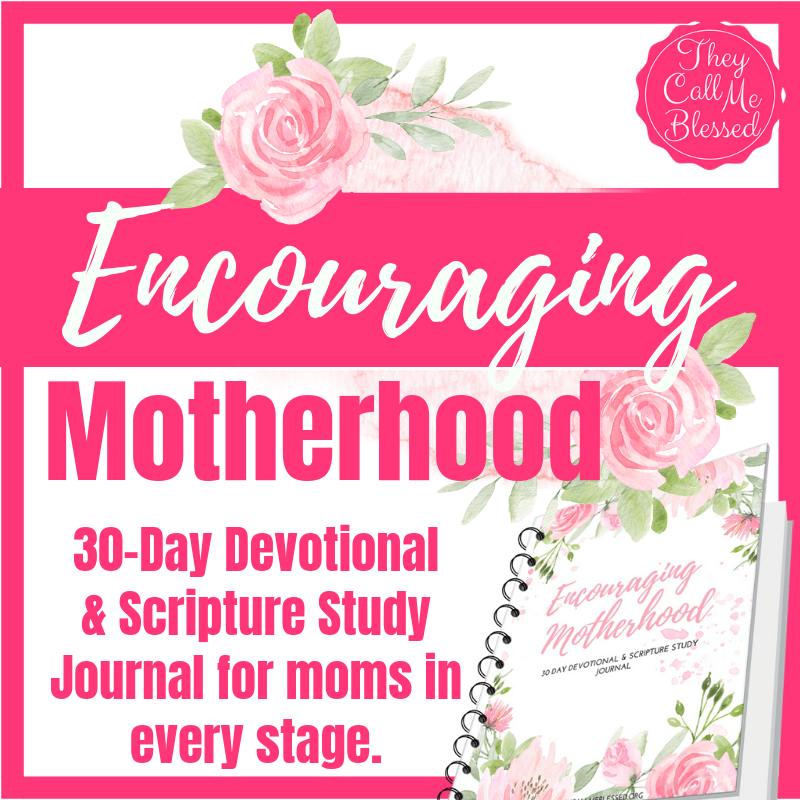 30-Day Encouraging Motherhood Devotional & Scripture Study Journal