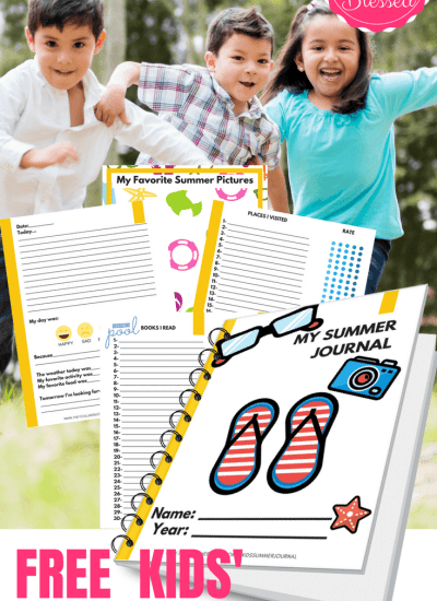 FREE Summer Journal for Kids
