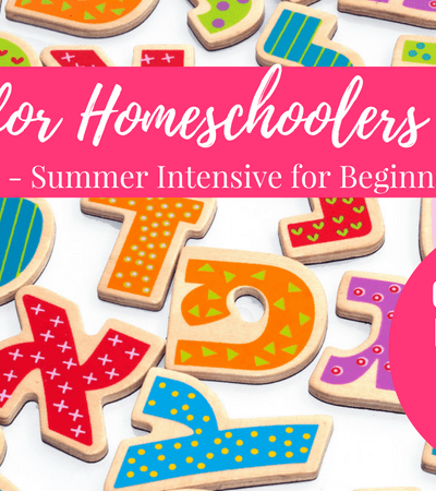 Hebrew for Homeschoolers 4-Week Summer Intensive for Beginners