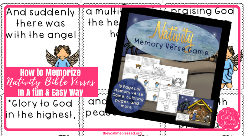 How to Memorize Nativity Bible Verses In A fun, Easy Way. Are you looking for a fun way to memorize verses while keeping Christ at the center of your Christmas celebrations? I've got a great game to do just that.