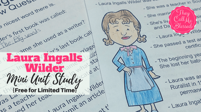 Laura Ingalls Wilder Unit Study