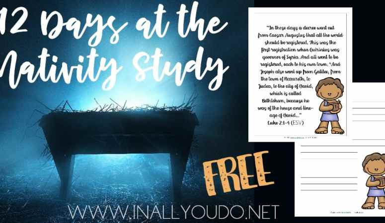 Free 12 Days at The Nativity Study