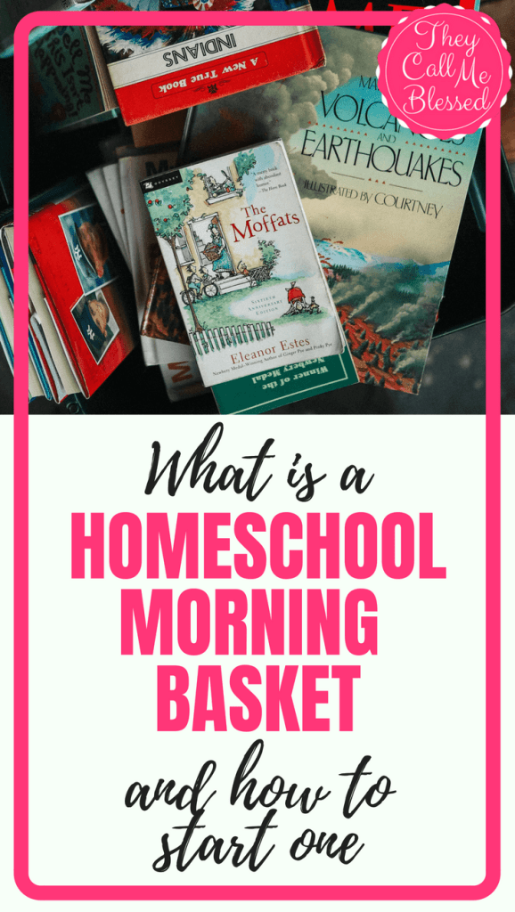 What is a Homeschool Morning Basket, and How to Start One - Having a homeschool morning basket is not a new concept, in the homeschool community but it does seem to be picking up some steam as of late. In our home, we were introduced to homeschool morning baskets several years ago and have been using them ever since. We love having the same structure in place to start our days and my kids enjoy knowing what is expected of them each and every morning.