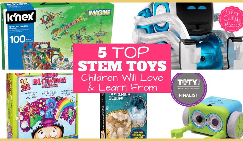 Homeschool STEM: 5 Top STEM Toys Children Will Love and Learn From