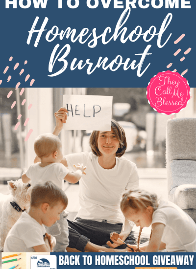 How to Overcome Homeschool Burnout + Giveaway