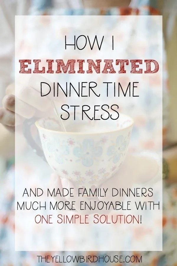 Dinnertime used to be the hardest part of my day. But with this solution, my hungry dinner stress is gone!