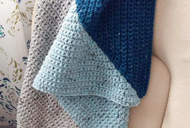Easy Crochet Baby Blanket Tutorial And Free Pattern