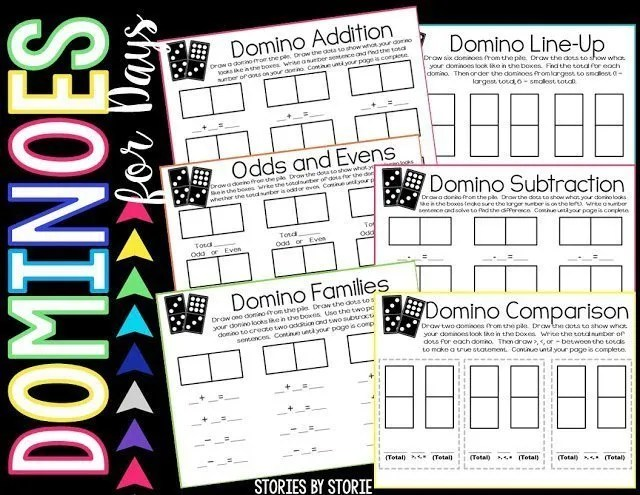 Domino activity packet