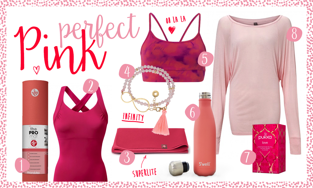 Yogi's Essentials // Perfect pink – colour match
