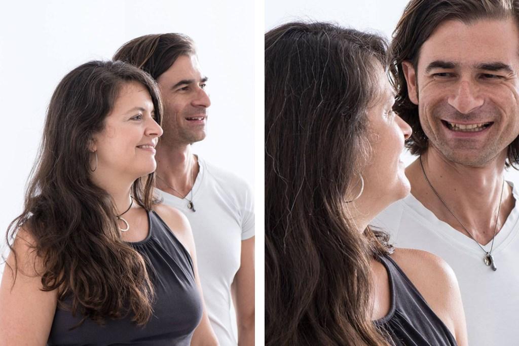 Romana und Sascha Delberg - Yogawerkstatt Wien