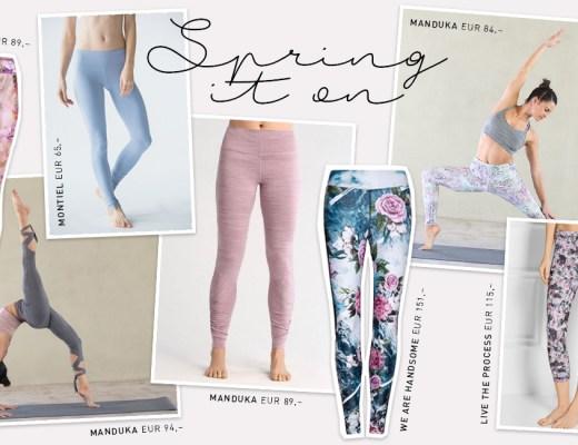 Leggings Love – Spring – Yoga Leggings - Lieblinge