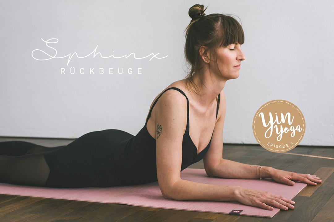 Yin Yoga – Serie –Teil 4 – Asana, Yogaübung, Position, Sphinx, Rückbeuge