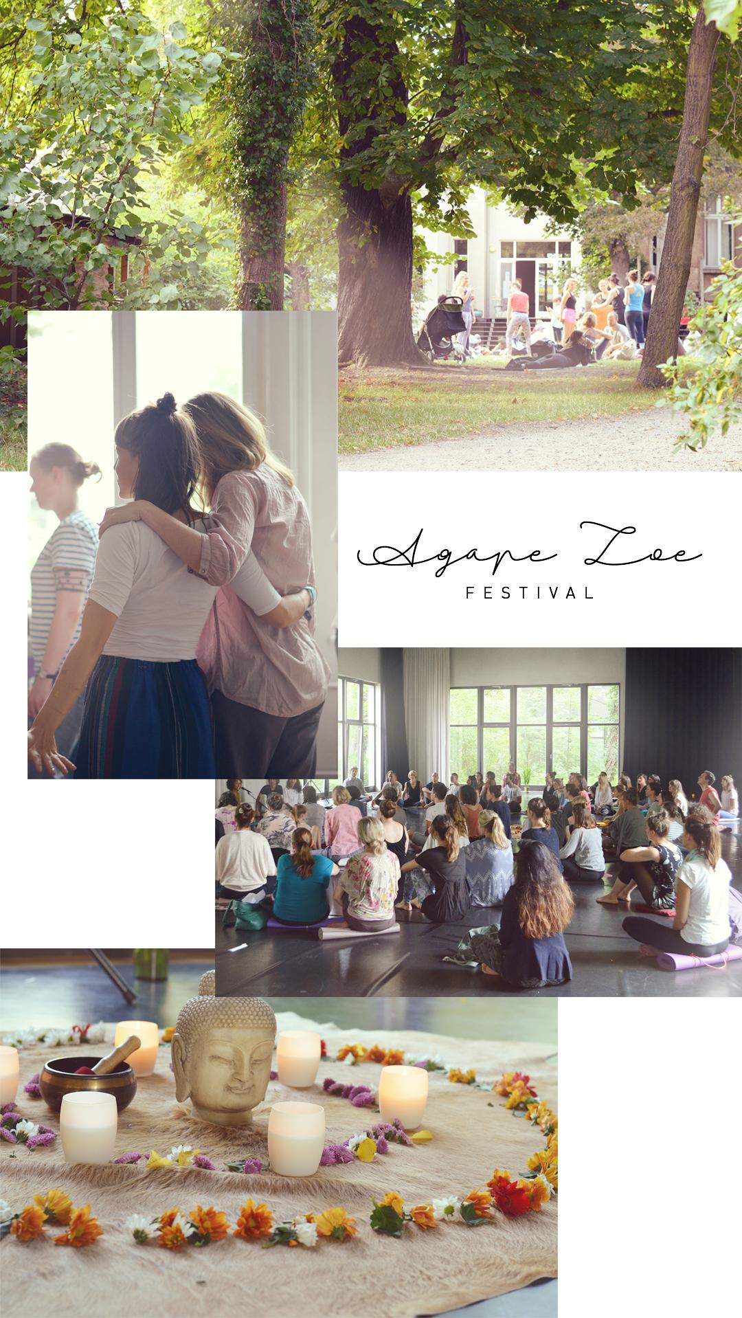 Agape Zoe Festival Berlin Pankow Tanzstudio Eden Yoga Healing Arts Mindfulness Recap Tränen Transformation