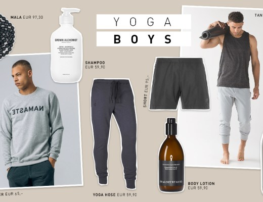 Yogi's Essentials für Männer Yoga Boys Kleidung Produkte Auswahl Shopping Hilfe Januar 2017