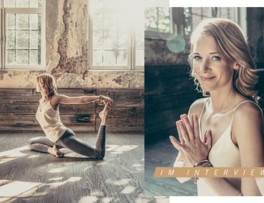 Annika Isterling Yoga Lehrerin Interview im Portrait Ankommen Meditation Buch