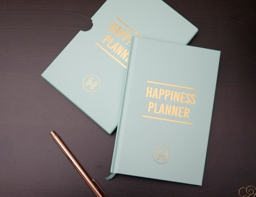 Happiness Planner Journal Gratefulness