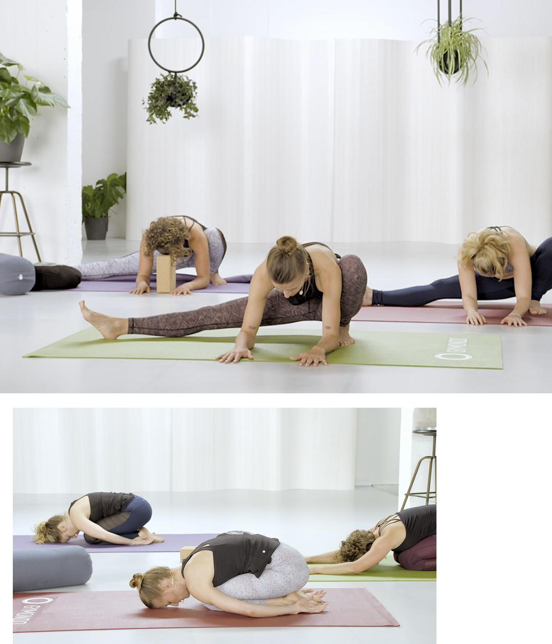 Gymondo Online Fitness Plattform Yin Yoga Videos Valerie Junger Sequenzen entspannen loslassen Harmonie Ausgleich Ruhe Stressabbau