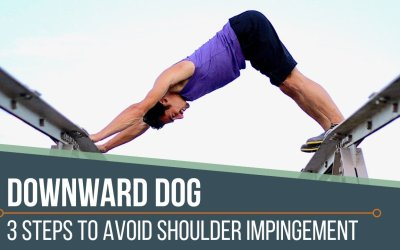 Down Dog: Avoid Shoulder Impingement