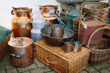 Some of the Stock from The Yorkshire Dales Gardenalia Company, Skipton, North Yorkshire
