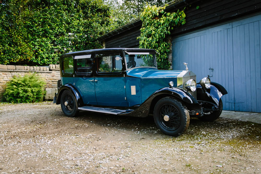 Vintage Rolls Royce Wedding Car Hire Yorkshire Dales