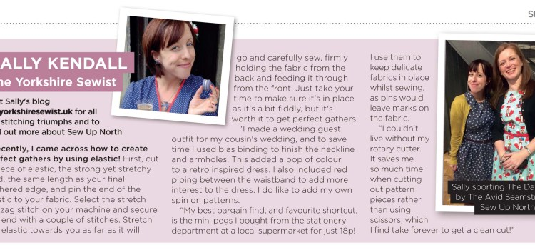 I'm featured in Sew Style Essentials Magazine!