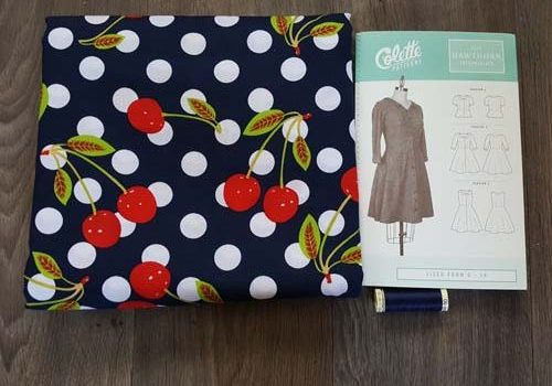 Sew Crafty Design Team Project – a Very Cherry Delight of a Dress