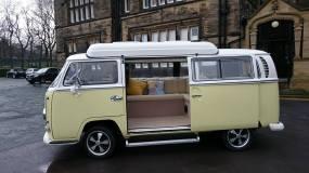VW Bay Window Campervan Wedding Bus