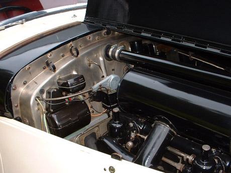 1950 Bentley engine compartment - vintage wedding car