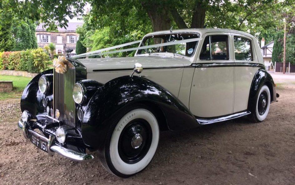 1950 Vintage Rolls Royce Silver Dawn Wedding Car