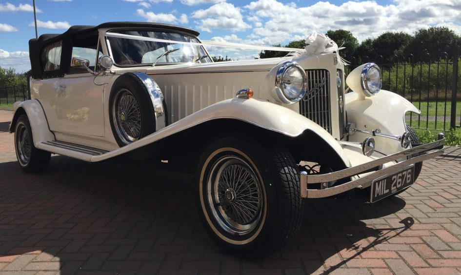 Beauford Open Top Tourer - 2 Door - Olde English White