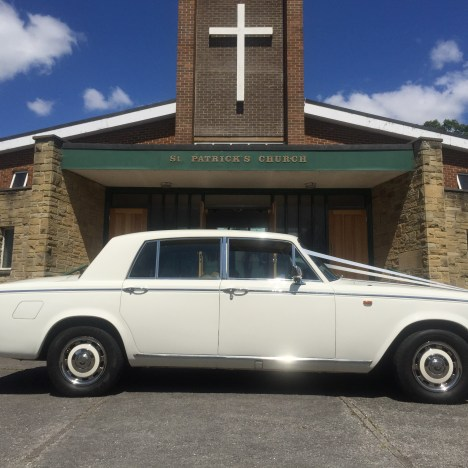 Rolls Royce Wedding in Batley