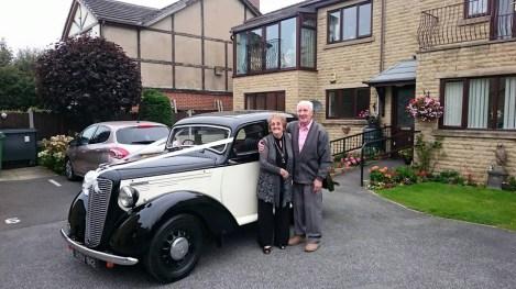 Morrie 10m - Vintage Wedding Car