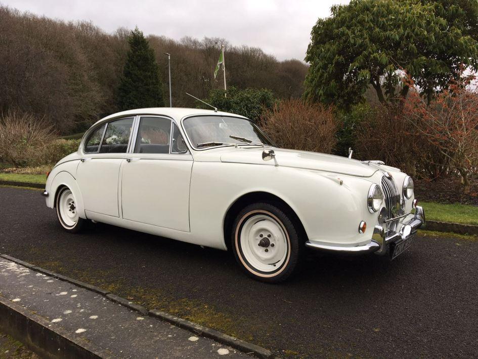 Classic Jaguar Mk 2 Wedding Car