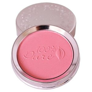 100% pure fruit pigmented powder blush