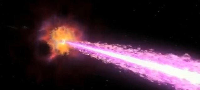 By measuring the angle and intensity at which these particles hit all 300 sensors over time, the scientists can figure out where the gamma rays originated. (Reuters)
