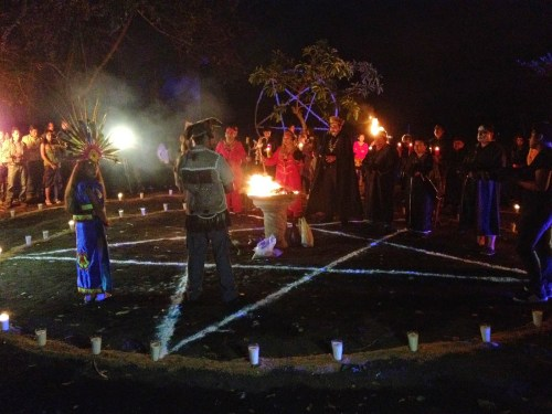 Ceremony in Catemaco