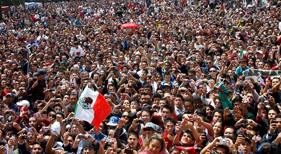 """This year's """"winner"""" is Mexico, taking that dubious honor from last year's title holder, Italy. (Photo: Google)"""