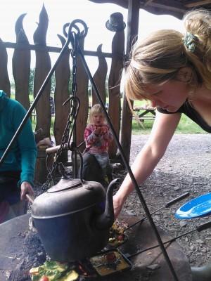 kettle's boiling