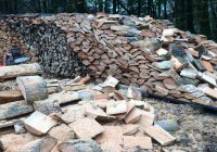 Replenishing the woodstack