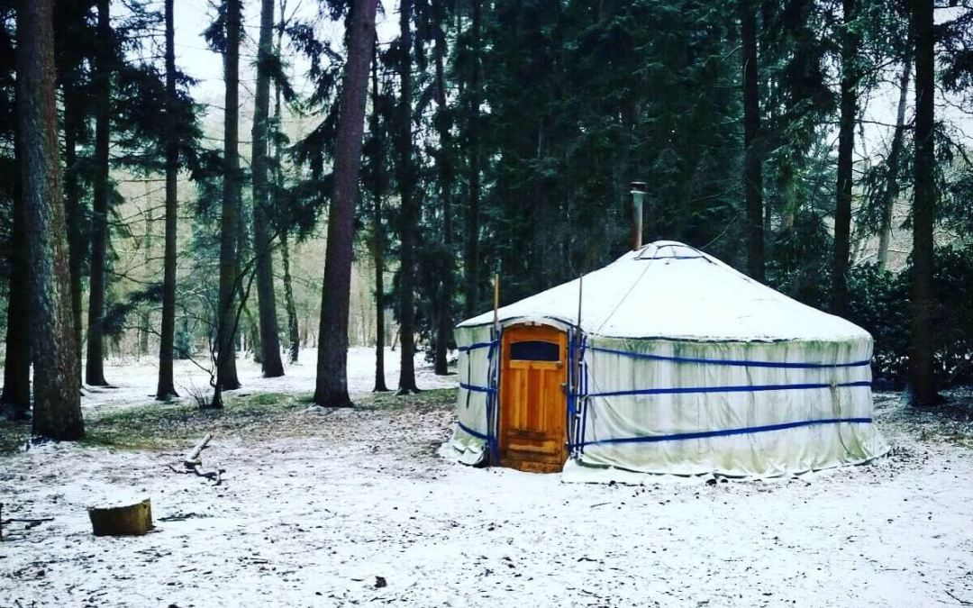 10 tips: Winterkamperen in een Yurt
