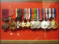 Sir Tasker's medals include the VC and MBE.